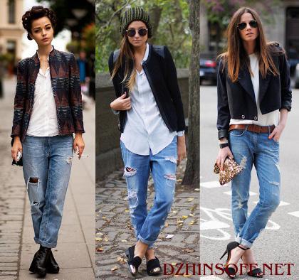 Как сделать модными старые джинсы